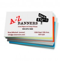 Business cards posters and other paper printing archives a z banners business cards reheart Gallery