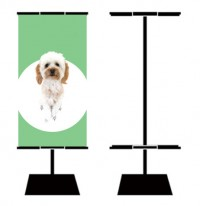 Heavy Plate Base Banner Stand