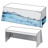Draped THROW Table Cover