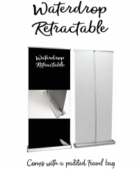 Retractable Banner Stands  (All Retractable Stands now come with Premium All Flat Vinyl)