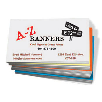 Business Cards Vancouver Posters